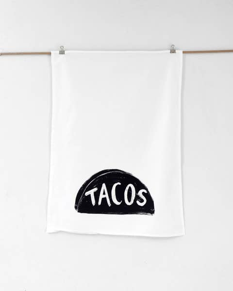 Tacos Tea Towel