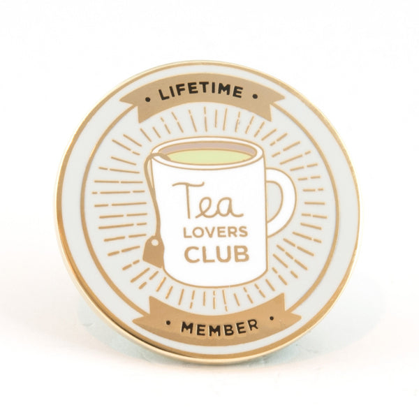 Tea Club Pin