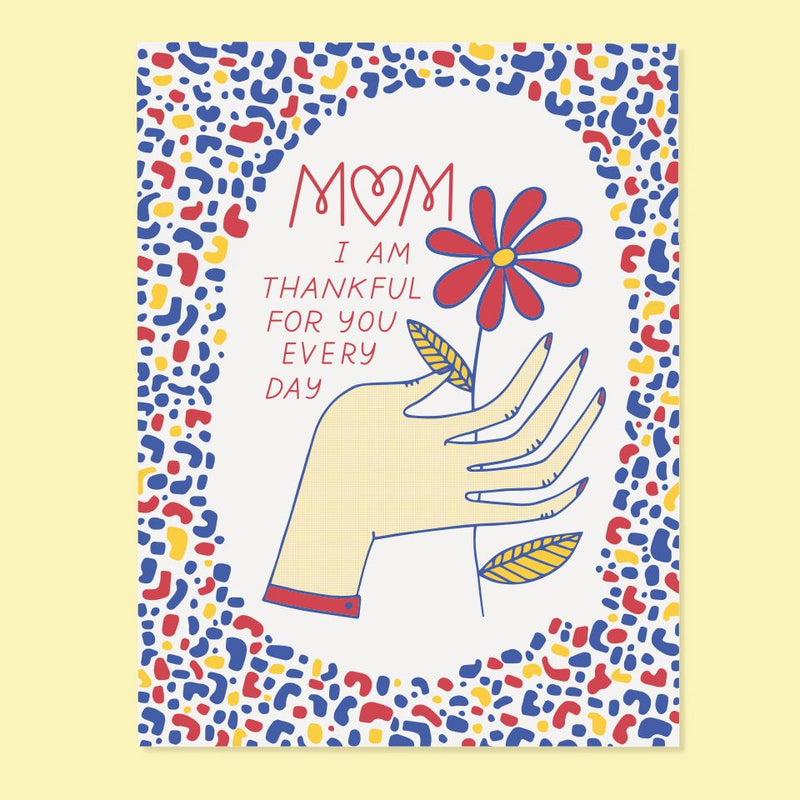 Thankful For You Mom Card