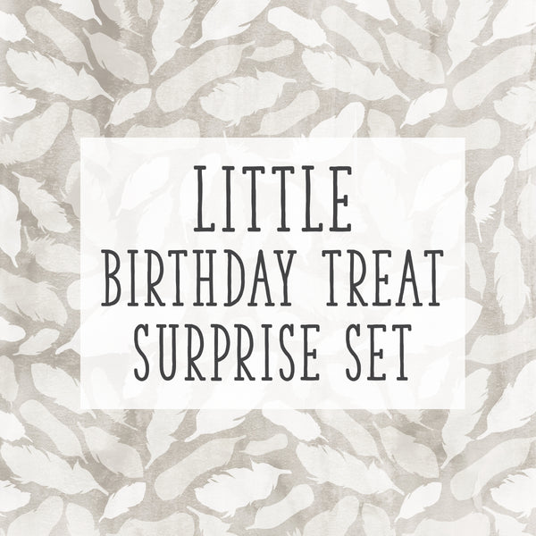 Birthday Special! Little Birthday Treat Surprise Set