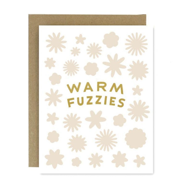 Warm fuzzies holiday card