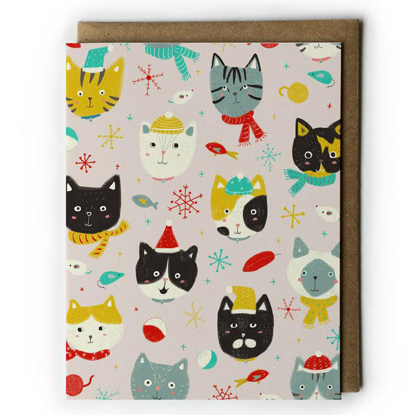 Winter Kitties Card