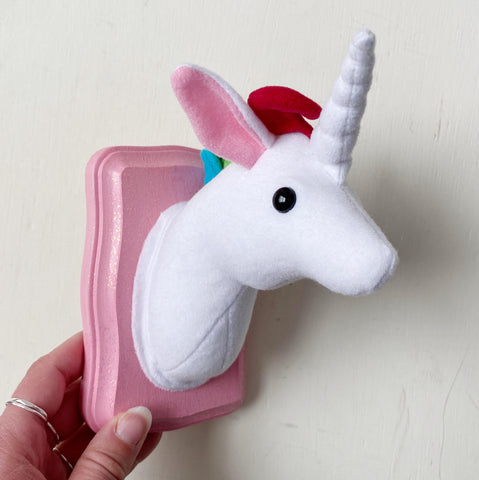 Unicorn Faux Taxidermy
