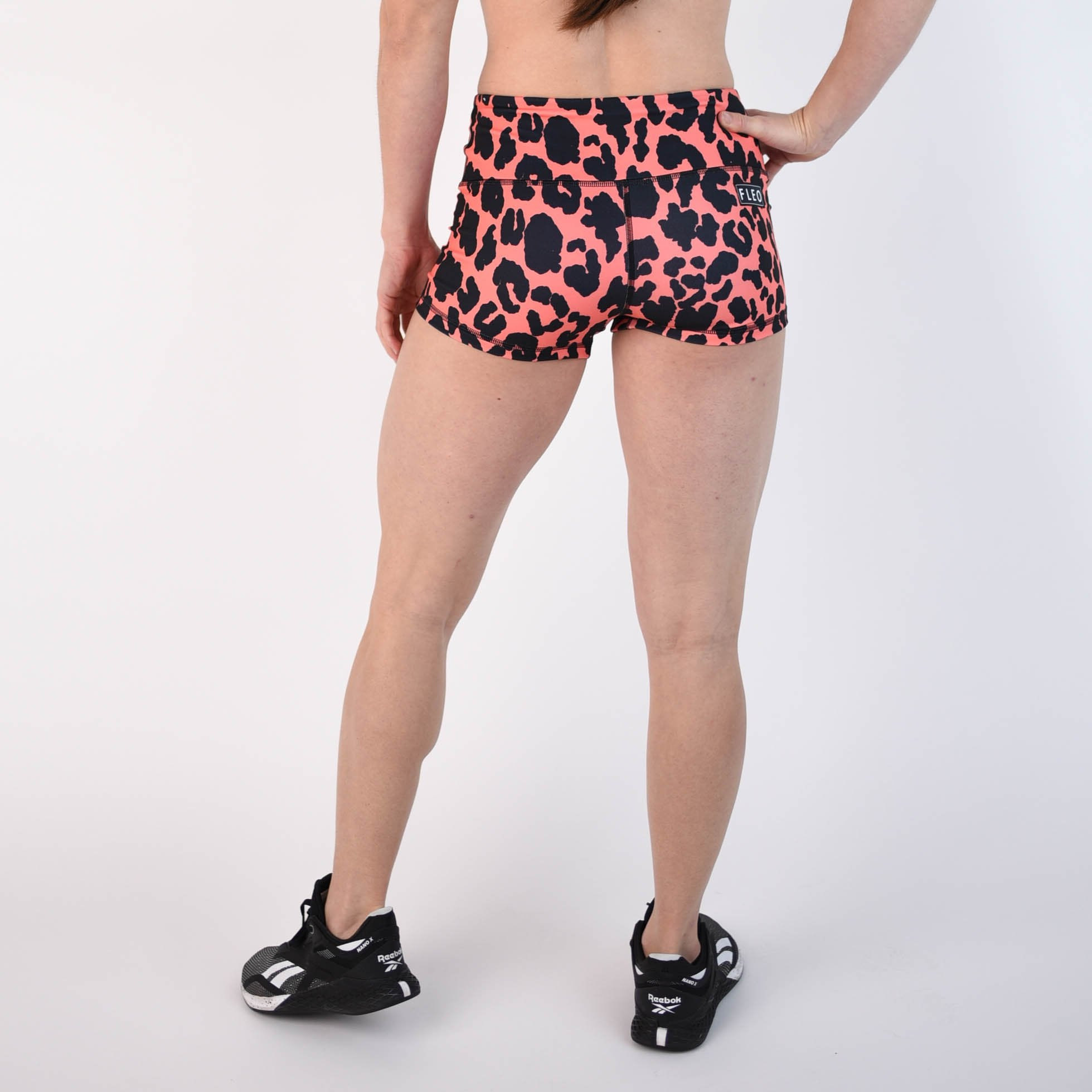 Coral Leopard High Rise Original
