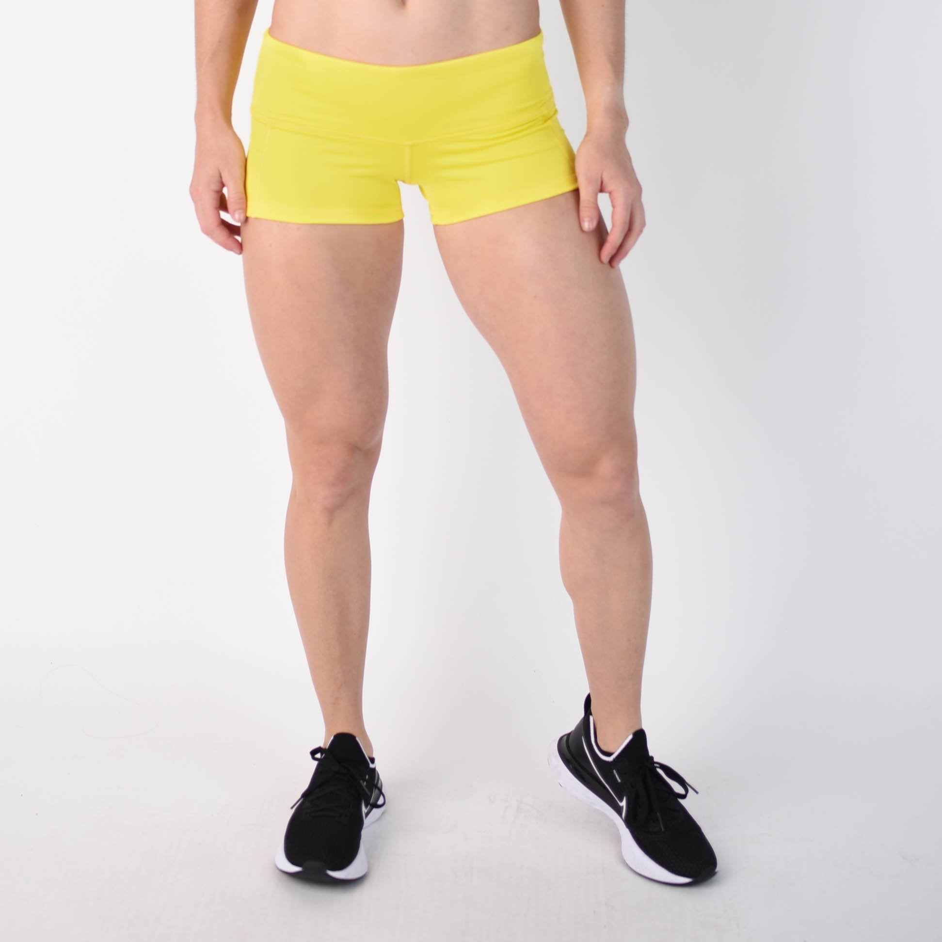 Neon Yellow Low Rise Contour - FLEO