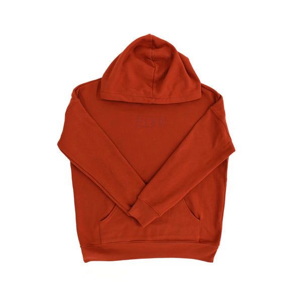 Brick Hooded Sweatshirt