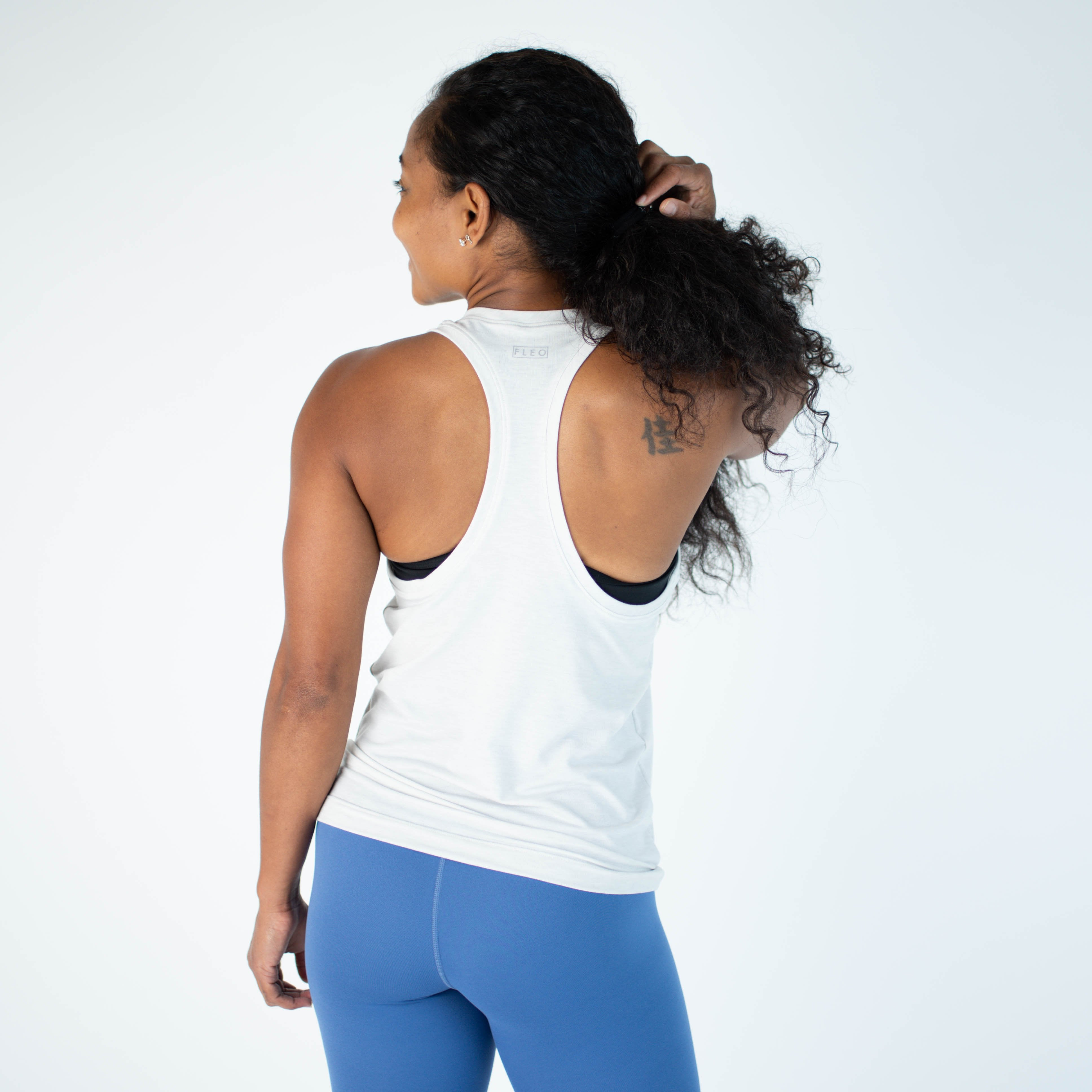 Got Your Back Tank - Glacier Gray