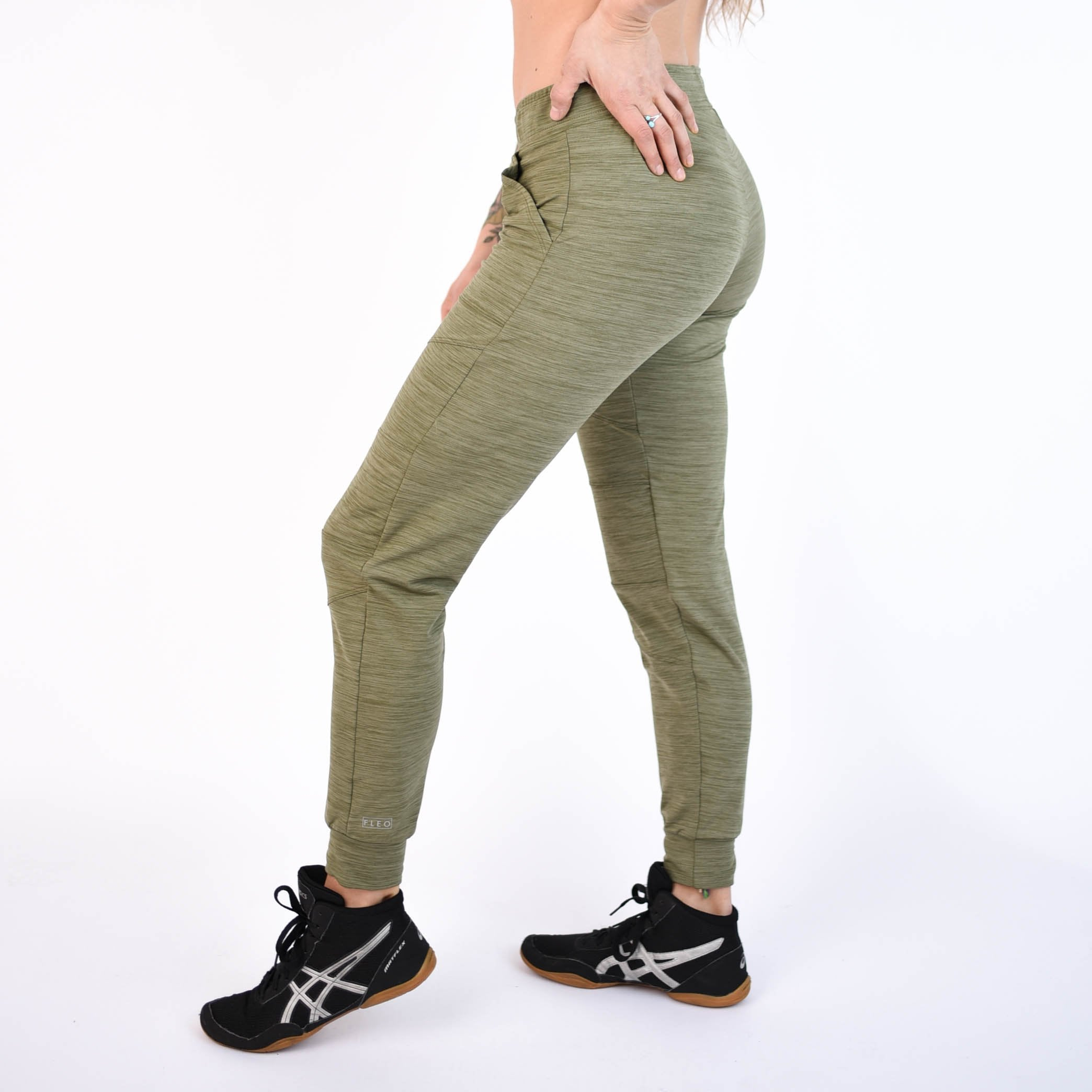 Harley Jogger Heather Ivy