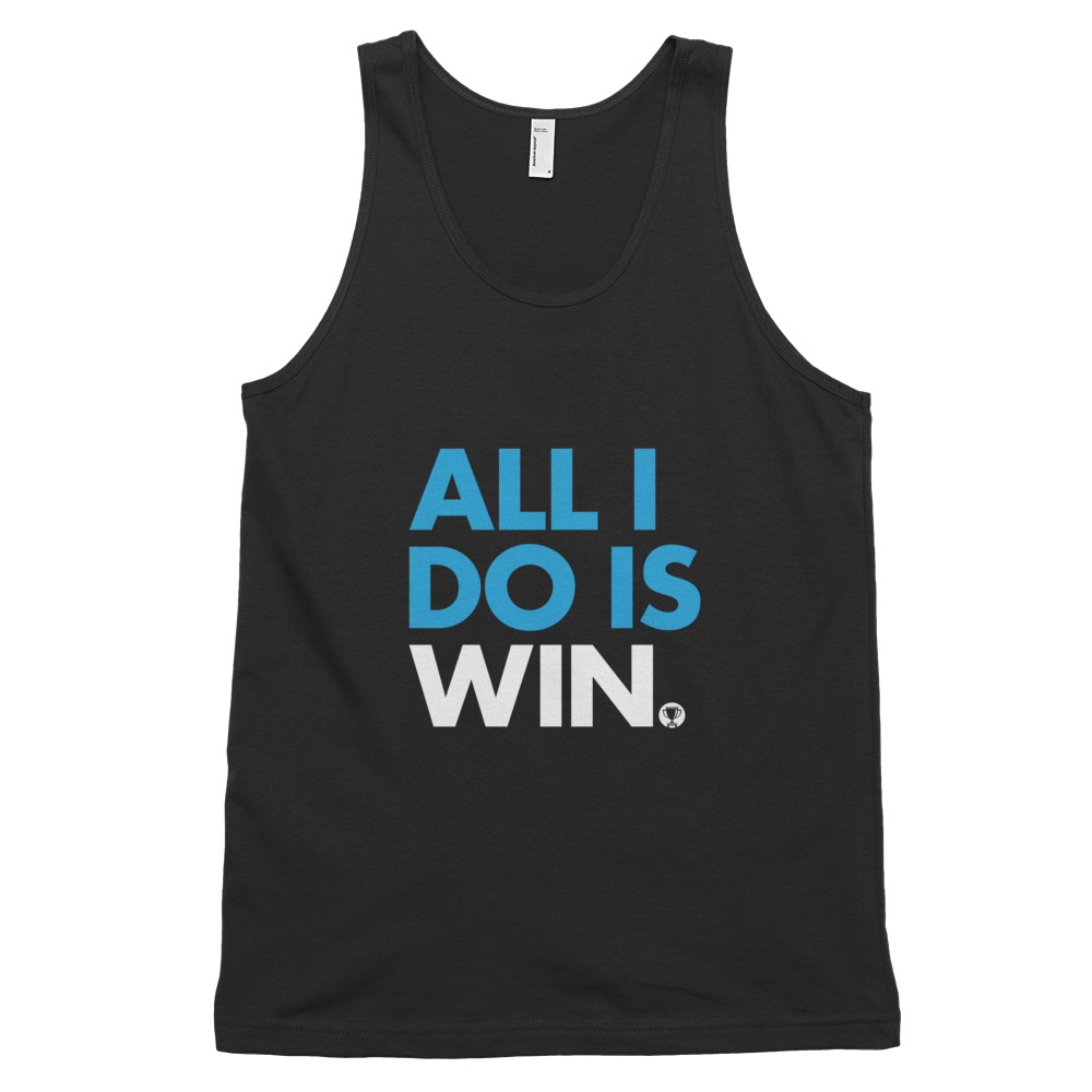 All I Do Is Win Tank Top (White)