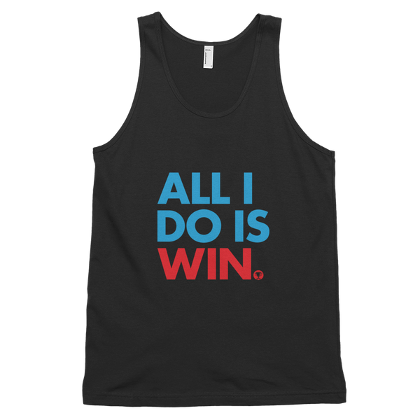 All I Do Is Win Tank Top (Red)