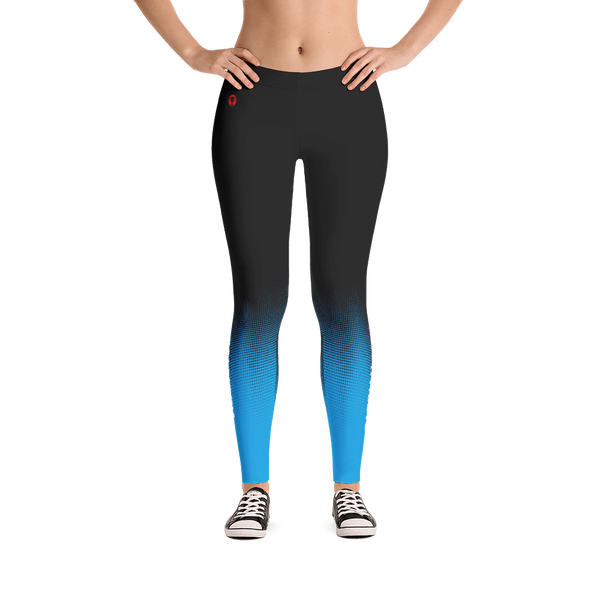Iowa Athlete (Blue) Leggings