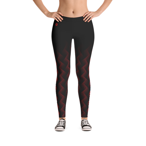 Iowa Athlete (Red) Leggings