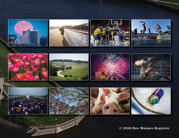 2019 Des Moines Register Photo Calendar