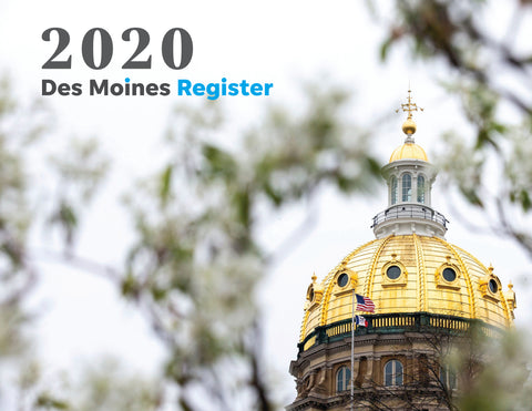 2020 Des Moines Register Photo Calendar