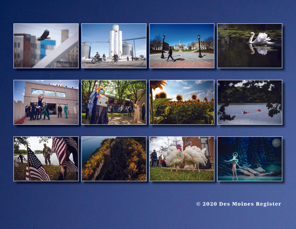 2021 Des Moines Register Photo Calendar