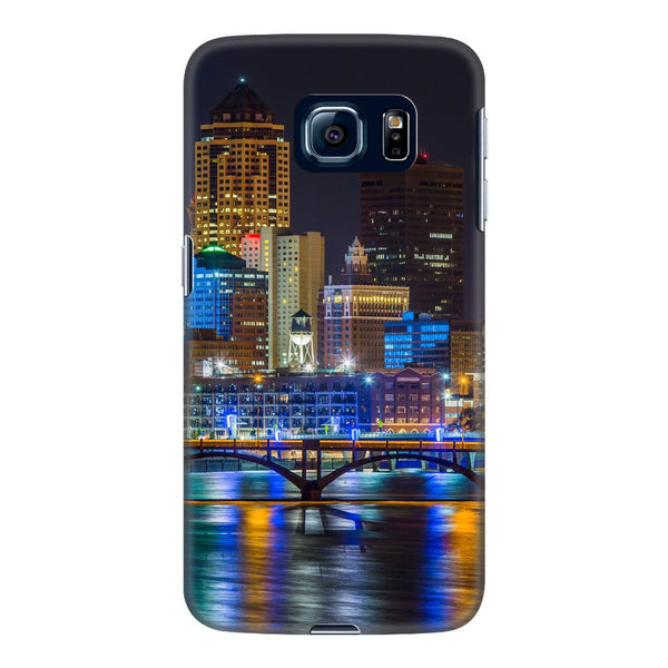 Des Moines Skyline Phone Case