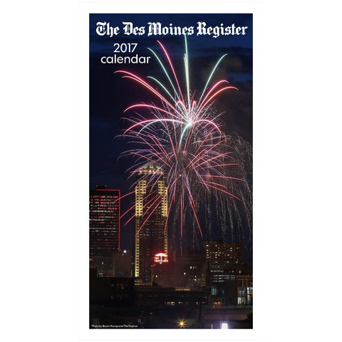 2017 Des Moines Register photo calendar
