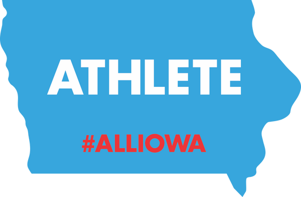 Iowa Athlete Sticker