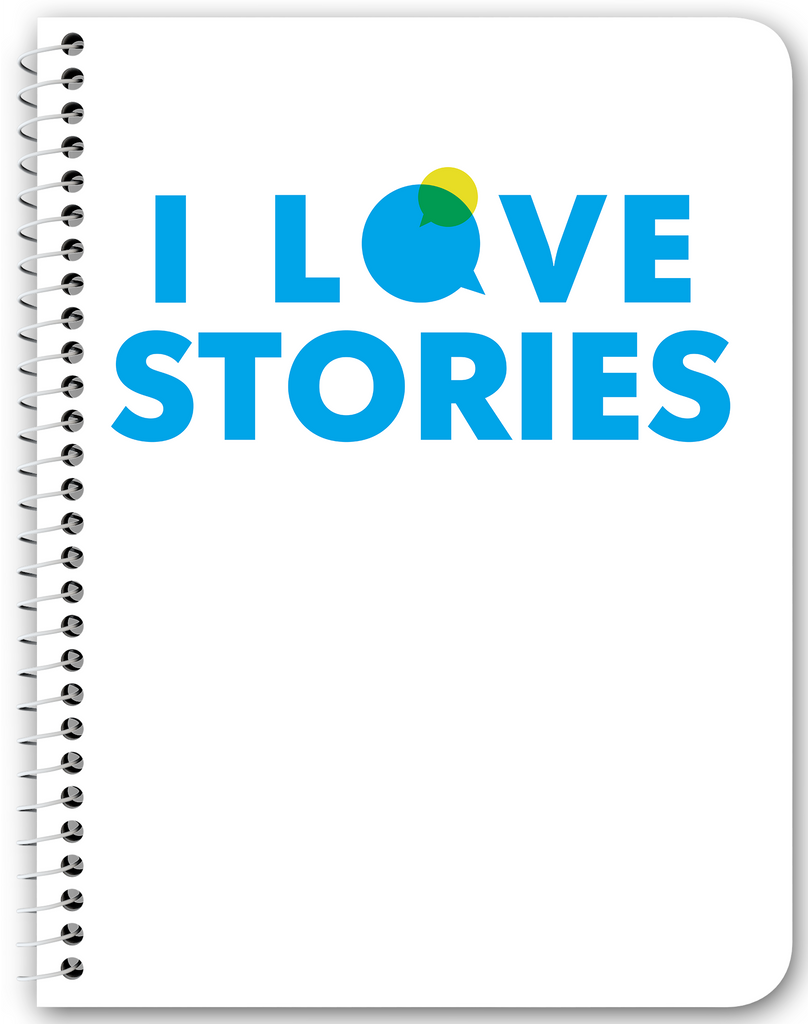 I Love Stories Notebook