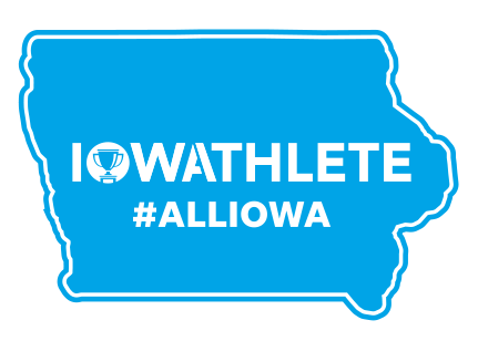 Iowa Athlete Bumper Stickers