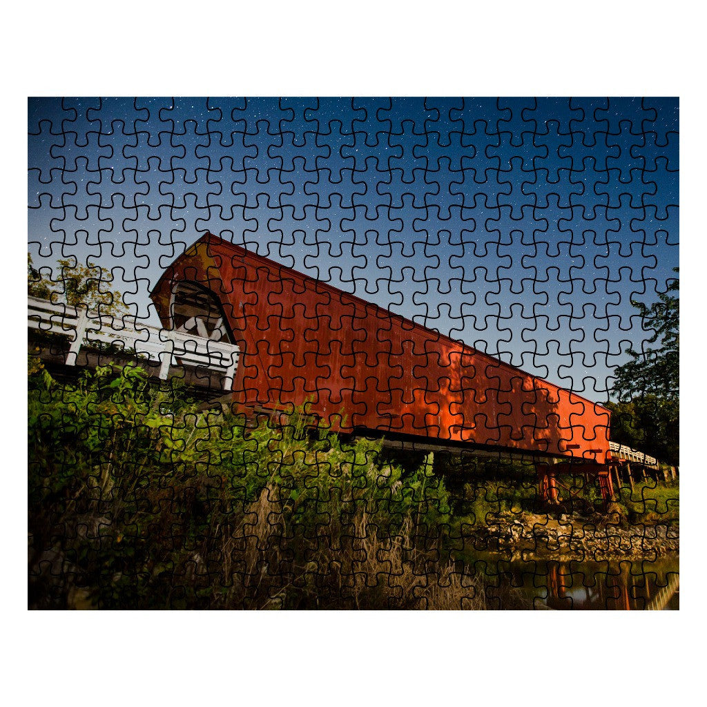 Roseman Covered Bridge Puzzle
