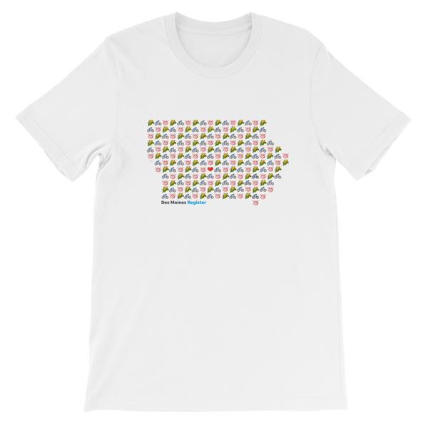 Emoji Iowa T-Shirt