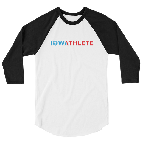 Iowa Athlete 3/4 Sleeve Baseball Jersey