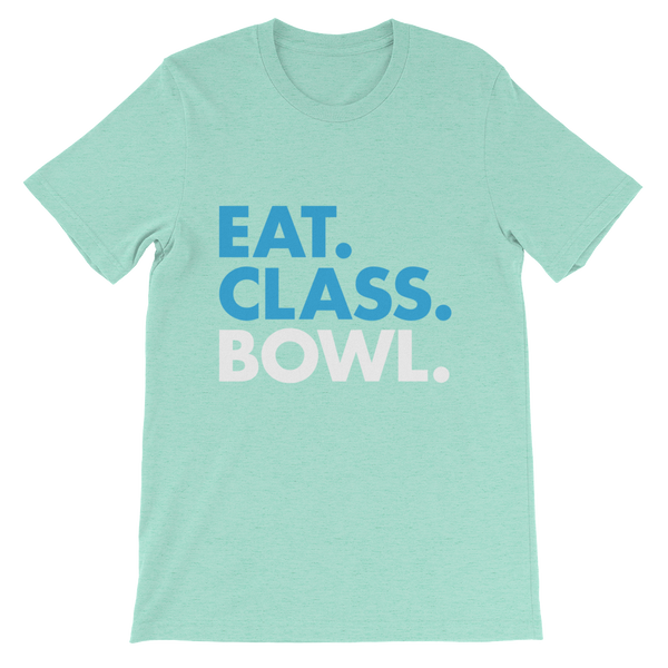 Eat. Class. Bowl. T-shirt (White)