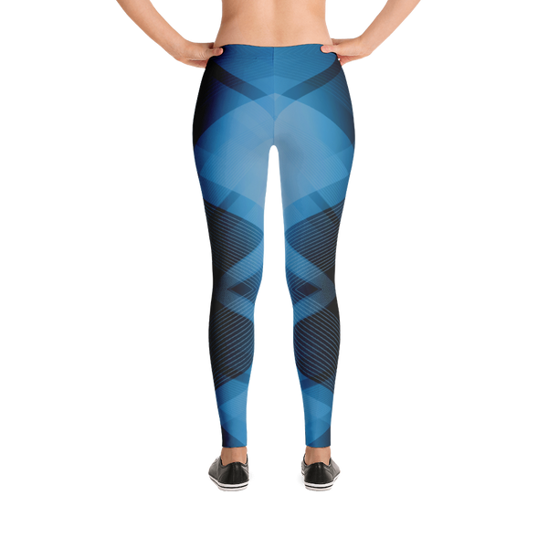 Geometric Iowa Athlete Leggings