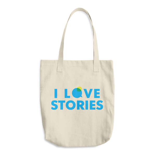 I Love Stories Tote