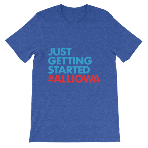 Just Getting Started T-Shirt (Red)
