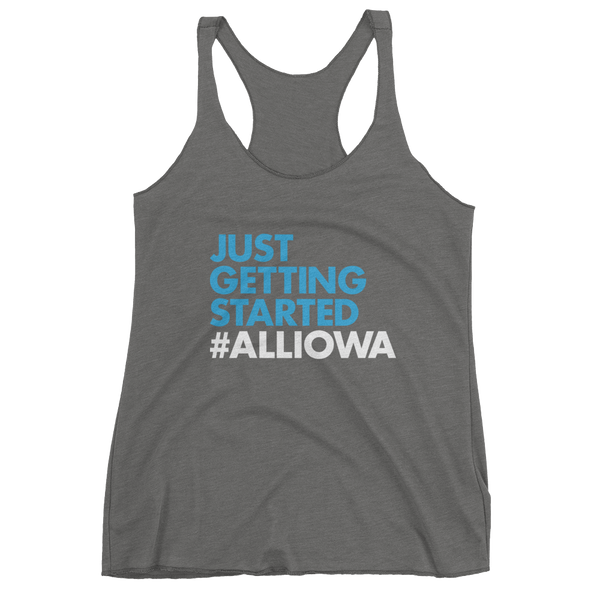 Just Getting Started (White) Women's Tank Top