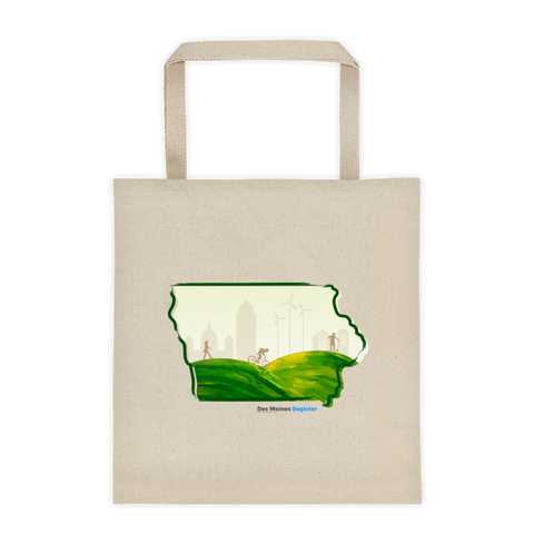 Scenic Iowa Tote Bag
