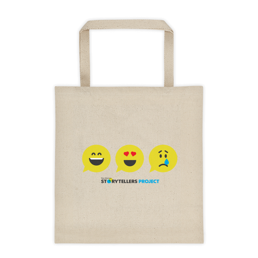 Storytellers Emoji Tote Bag