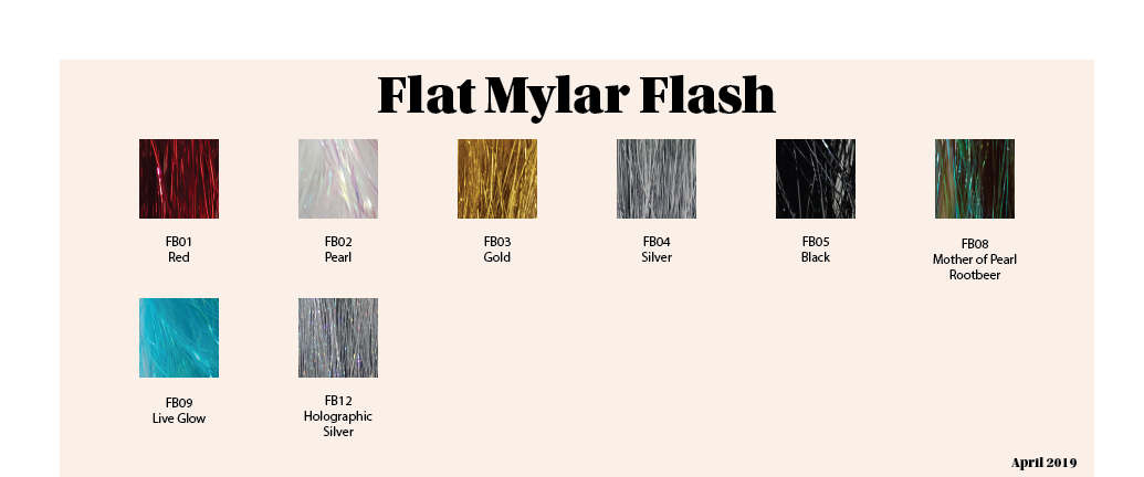 Flat Mylar Flash