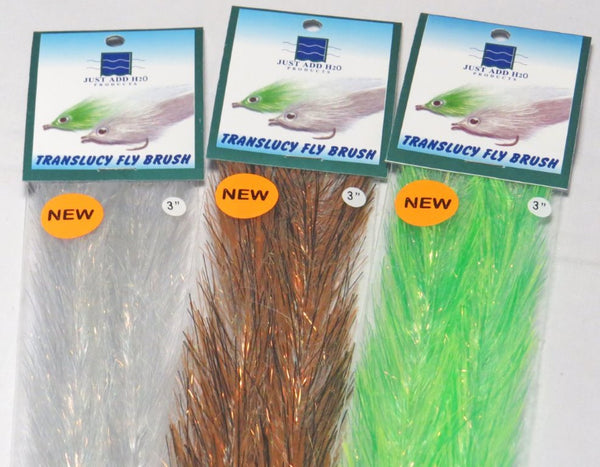 Translucy Fly Brush 3""