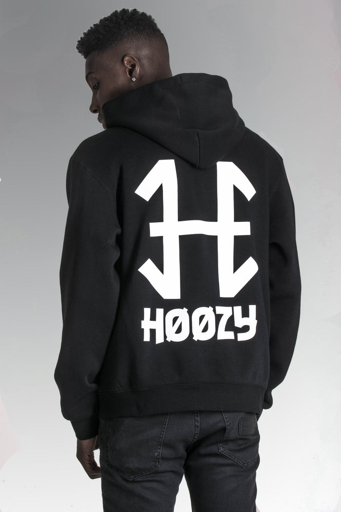 'H' Pullover Hoodie | Available Black & White