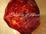 BGC#SD-E154 Wall and Ceiling Hand-Blown Glass Plate