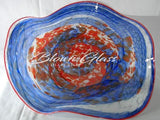 BGC#SD-E156 Wall and Ceiling Hand-Blown Glass Plate