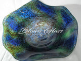 BGC#SD-E158 Wall and Ceiling Hand-Blown Glass Plate