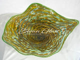 BGC#SD-E160 Wall and Ceiling Hand-Blown Glass Plate