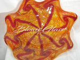 BGC#SD-E172 Wall and Ceiling Hand-Blown Glass Plate
