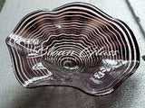 BGC#SD-E179 Wall and Ceiling Hand-Blown Glass Plate