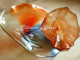 BGC#SD-E198 Wall and Ceiling Hand-Blown Glass Plate