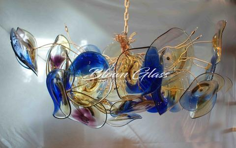 Blown Glass Collective Chandeliers
