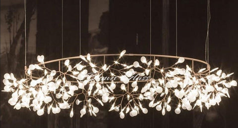 The Night Sky Hand Blown Glass Chandelier - Blown Glass Collective