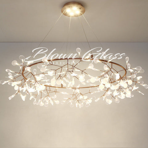 Bedroom Chandeliers - The Night Sky - Blown Glass Collective