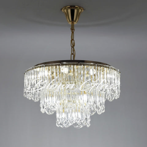 Chandeliers for Dining Room - The Palisades - Blown Glass Collective
