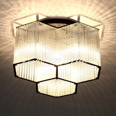 Large Chandeliers - Lighting Hex - Blown Glass Collective