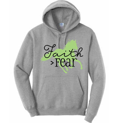 Draw It Out Faith > Fear Hoodie